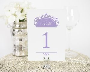 California Damask Table Numbers
