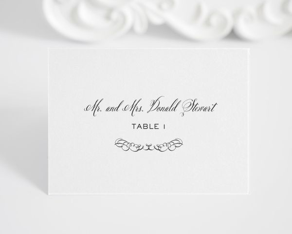Chic Elegance Place Cards