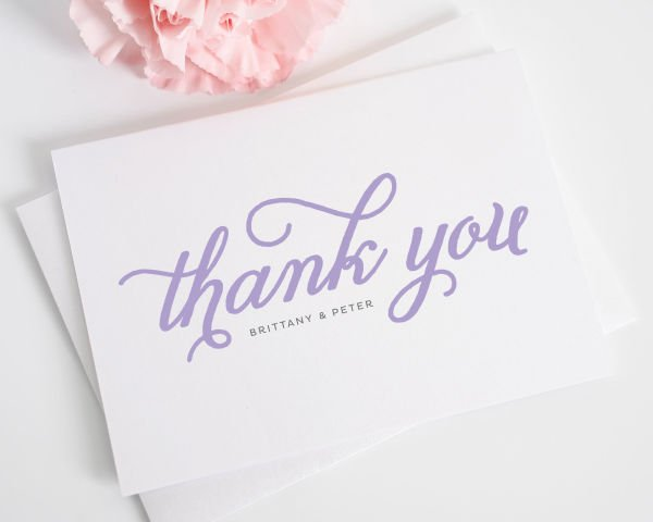 Classic Whimsy Thank You Cards