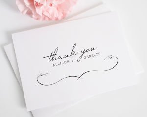 French Country Thank You Cards