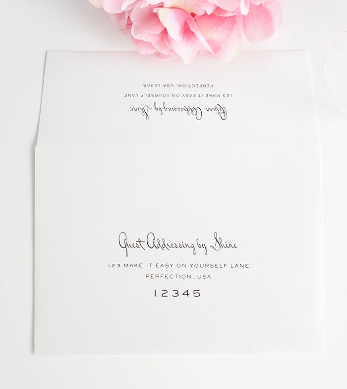 Wedding Invitations Addressing could be nice ideas for your invitation template