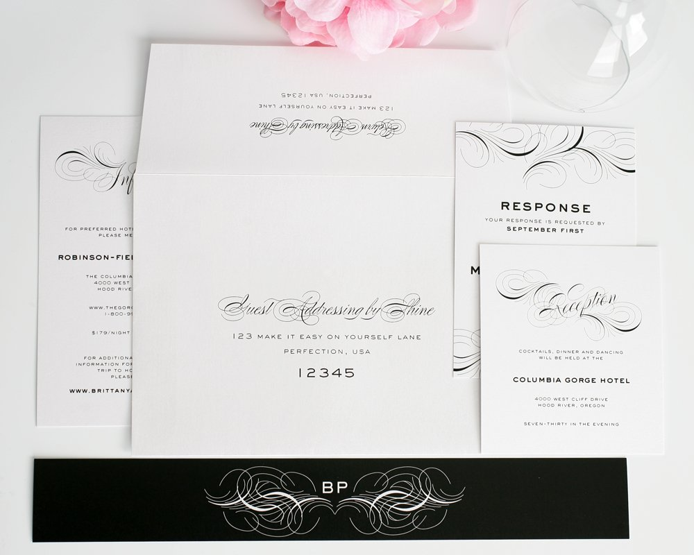 Wedding Invitations Addressing can inspire you to create best invitation template