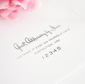Wedding Invitations Addressing was very inspiring ideas you may choose for invitation ideas