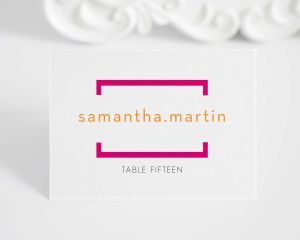Math Love Place Cards
