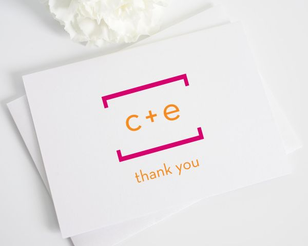 Math Love Thank You Cards