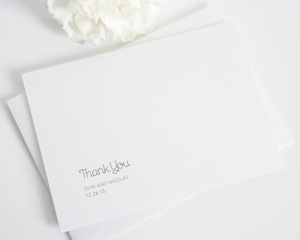 Minimalist Thank You Cards