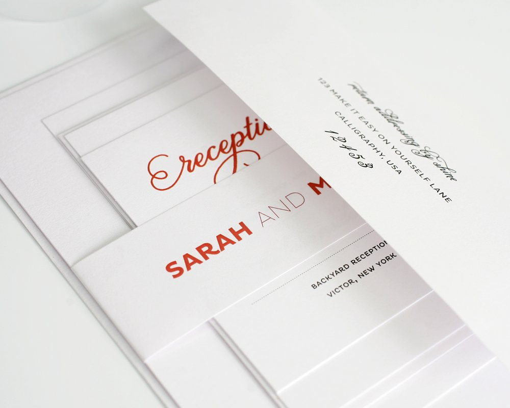 Contemporary Wedding Invitations correctly perfect ideas for your invitation layout