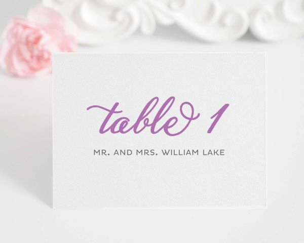 Modern Whimsy Place Cards