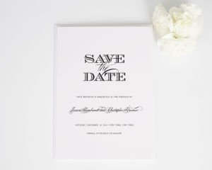 Ornate Elegance Save the Date Cards