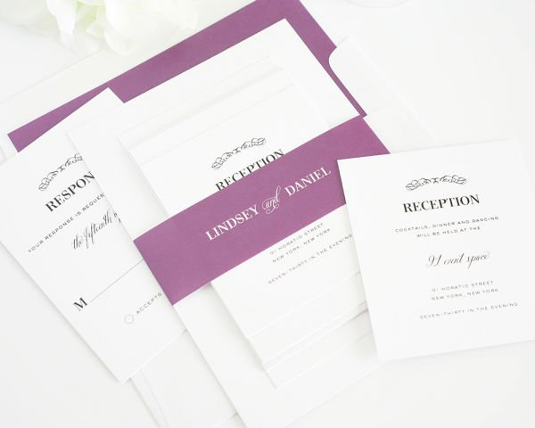 Chic Elegance Wedding Invitations