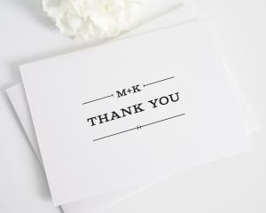 Rustic Simplicity Thank You Cards