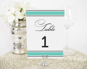Vintage Wrap Table Numbers
