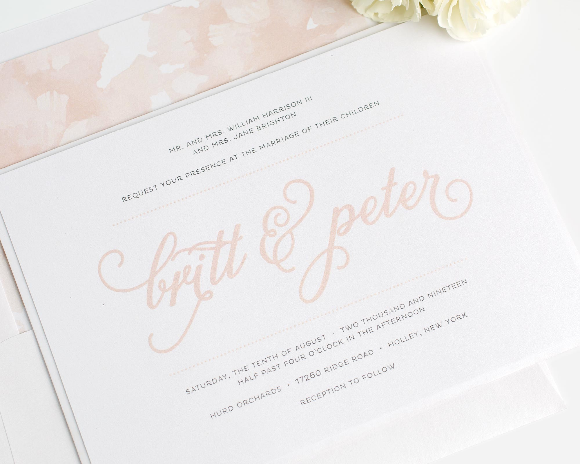Classic Whimsy Wedding Invitations