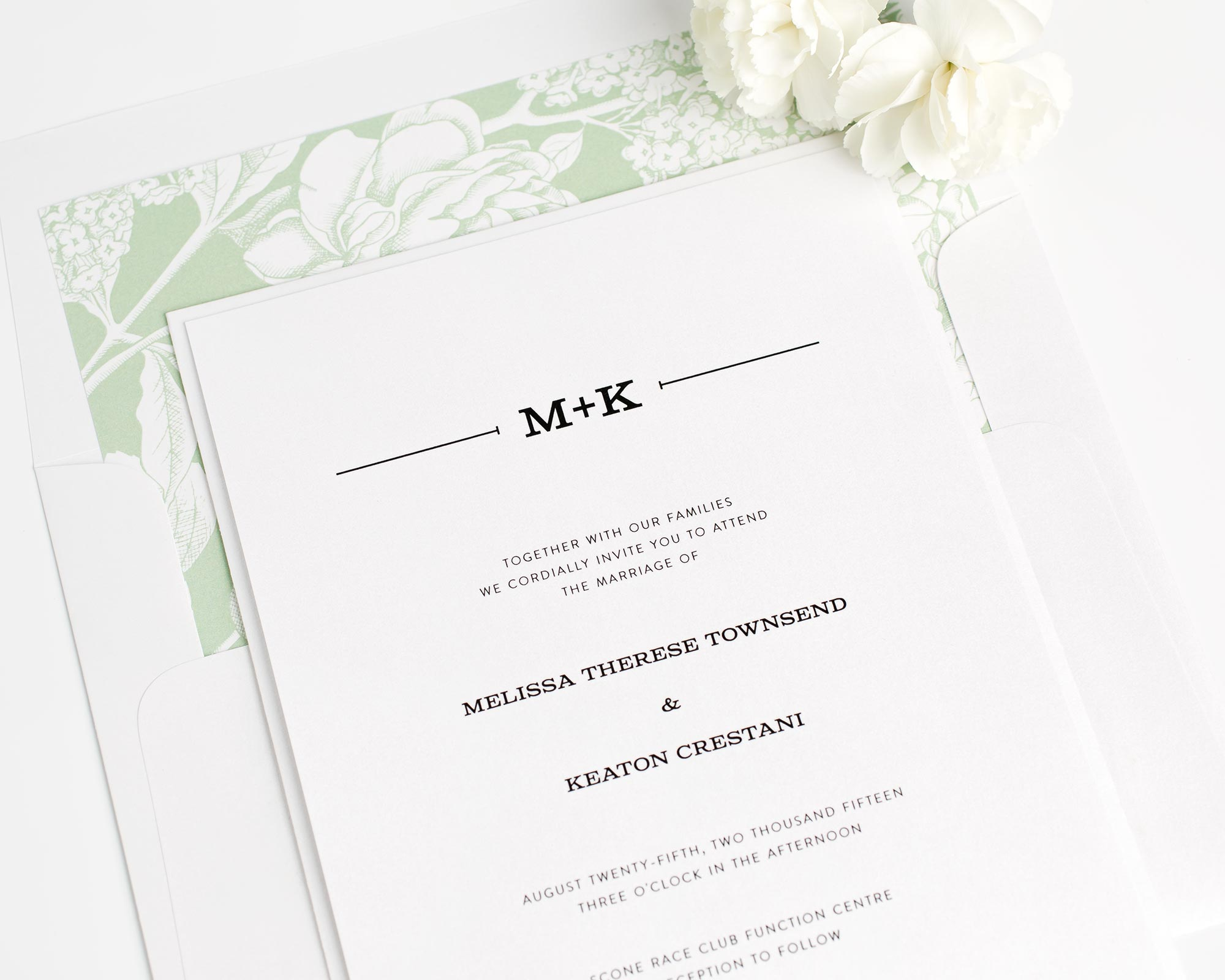 Rustic Simplicity Wedding Invitations
