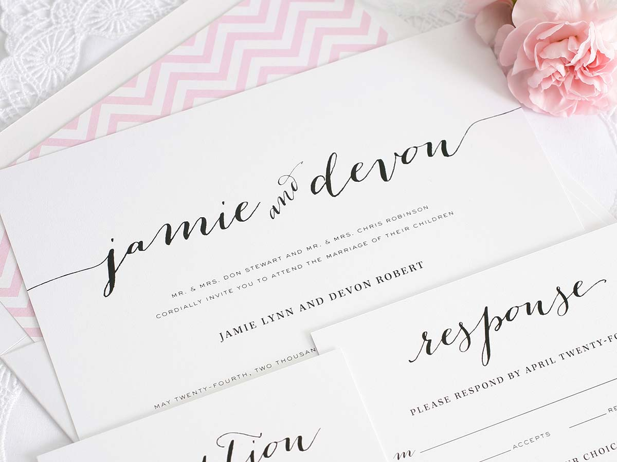 Wedding Invite Fonts