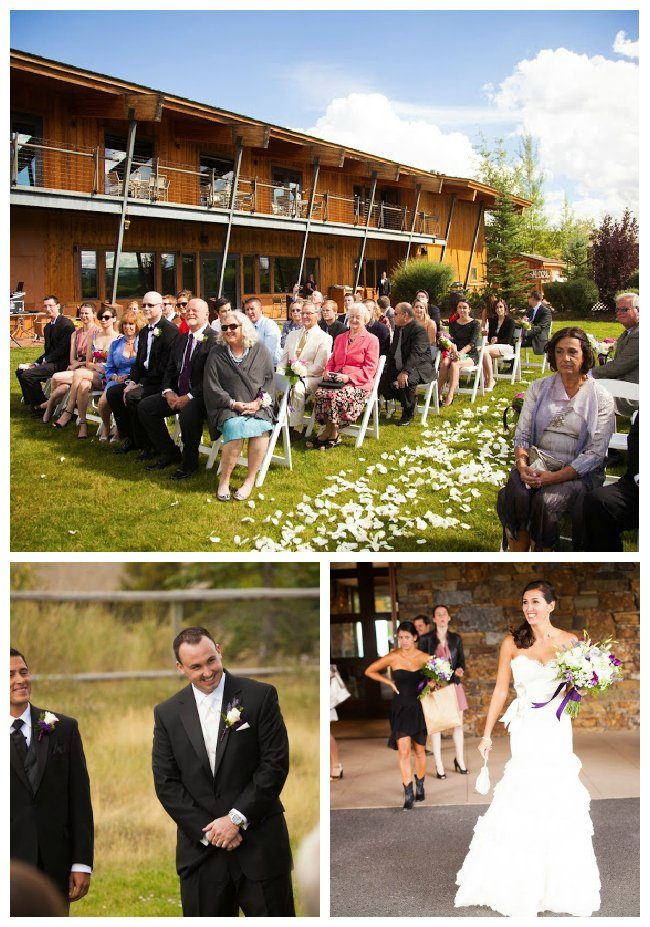 Jackson Wyoming Wedding at Spring Creek Ranch