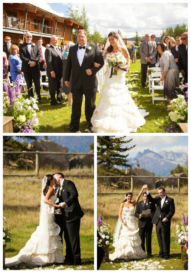 Spring Creek Ranch Wedding Jackson Hole