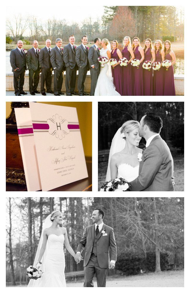 Eggplant Purple Wedding Inspiration