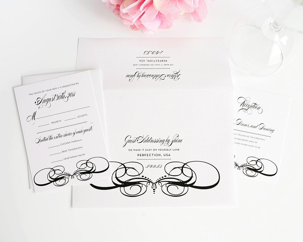 Guest Addressing for Wedding Invitations