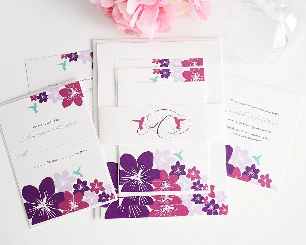 Hummingbird Wedding Invitations