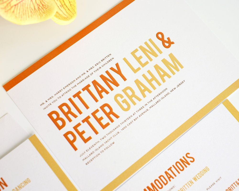 Contemporary Wedding Invitations for your inspiration to make invitation template look beautiful