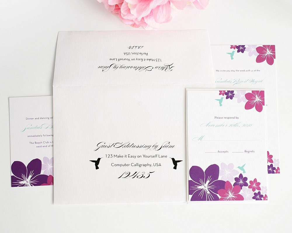 Wedding Invitation Guest Addressing