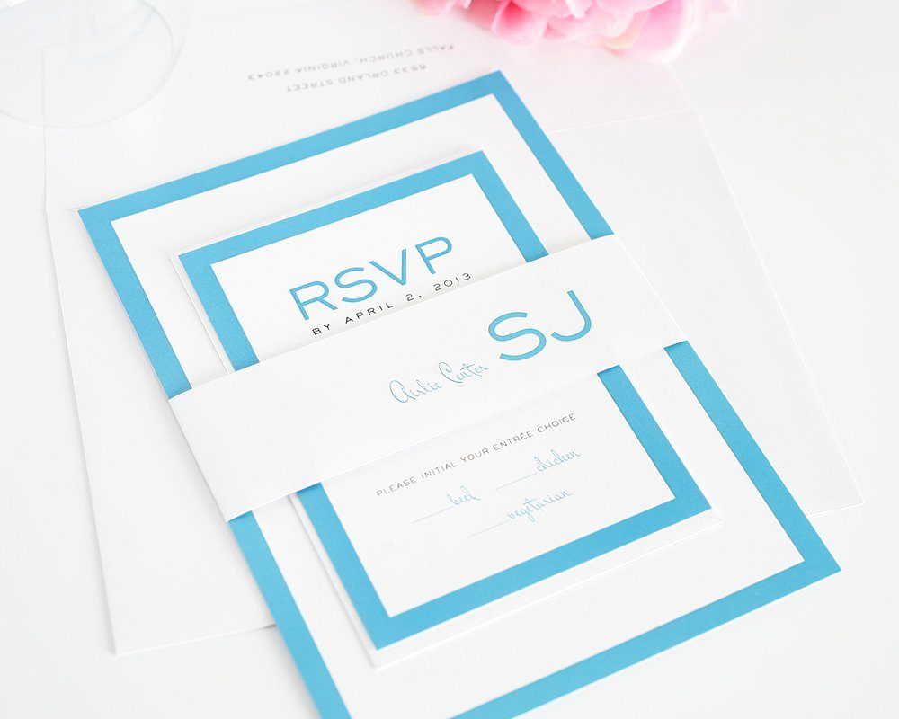 Wedding Invitation Modern