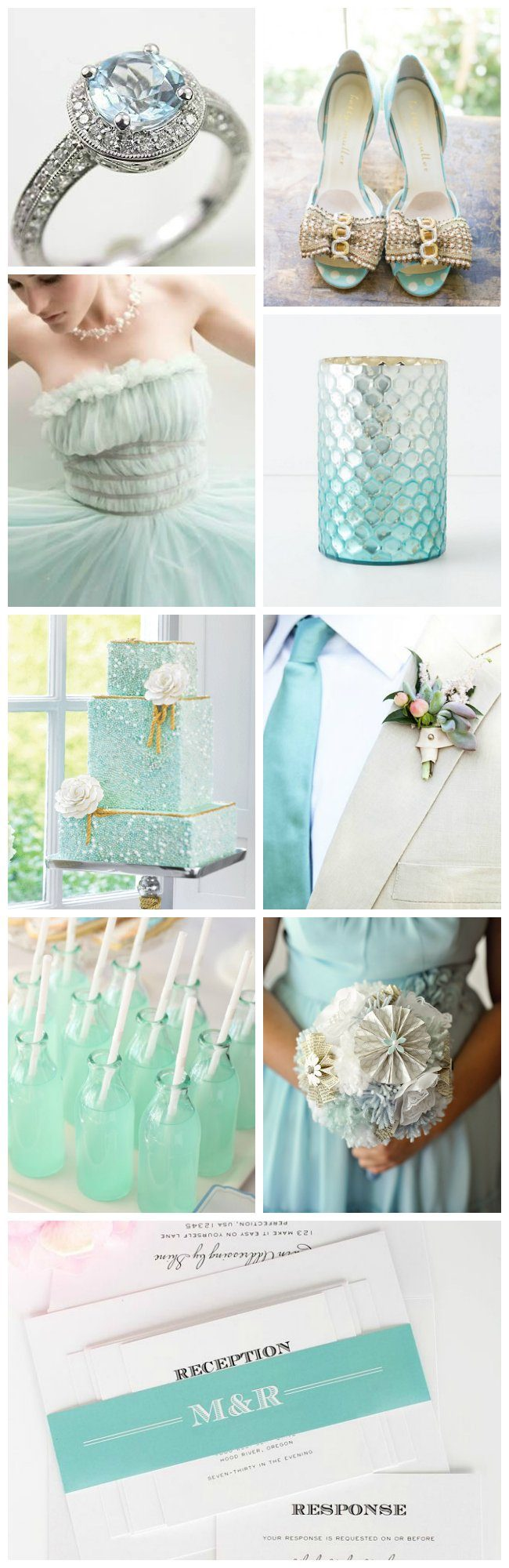 Aquamarine Wedding Inspiration