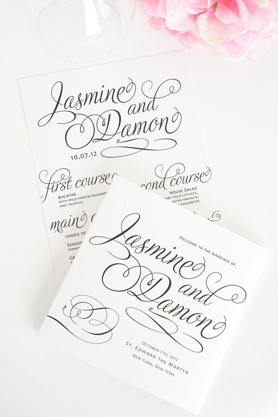 Programs for Weddings and Events