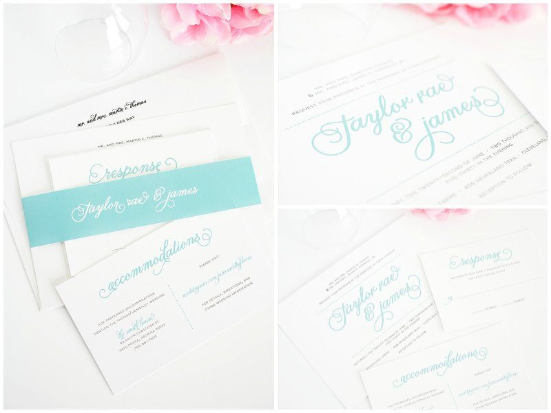 Tiffany Blue And Red Wedding Invitations: Tiffany Blue And Pink Wedding Inspiration