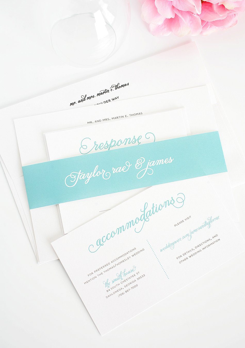 Tiffany Blue Invitations 48
