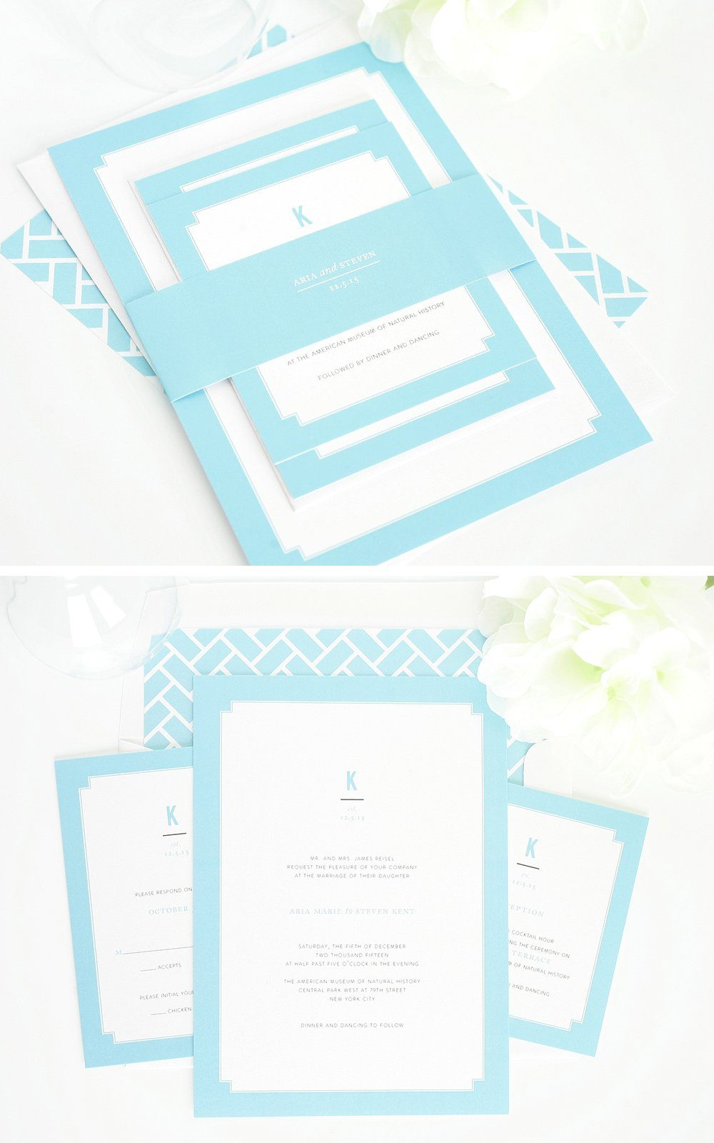 tiffany blue wedding invitations with borders tiffany blue wedding invitations Wedding Invitations in Tiffany Blue