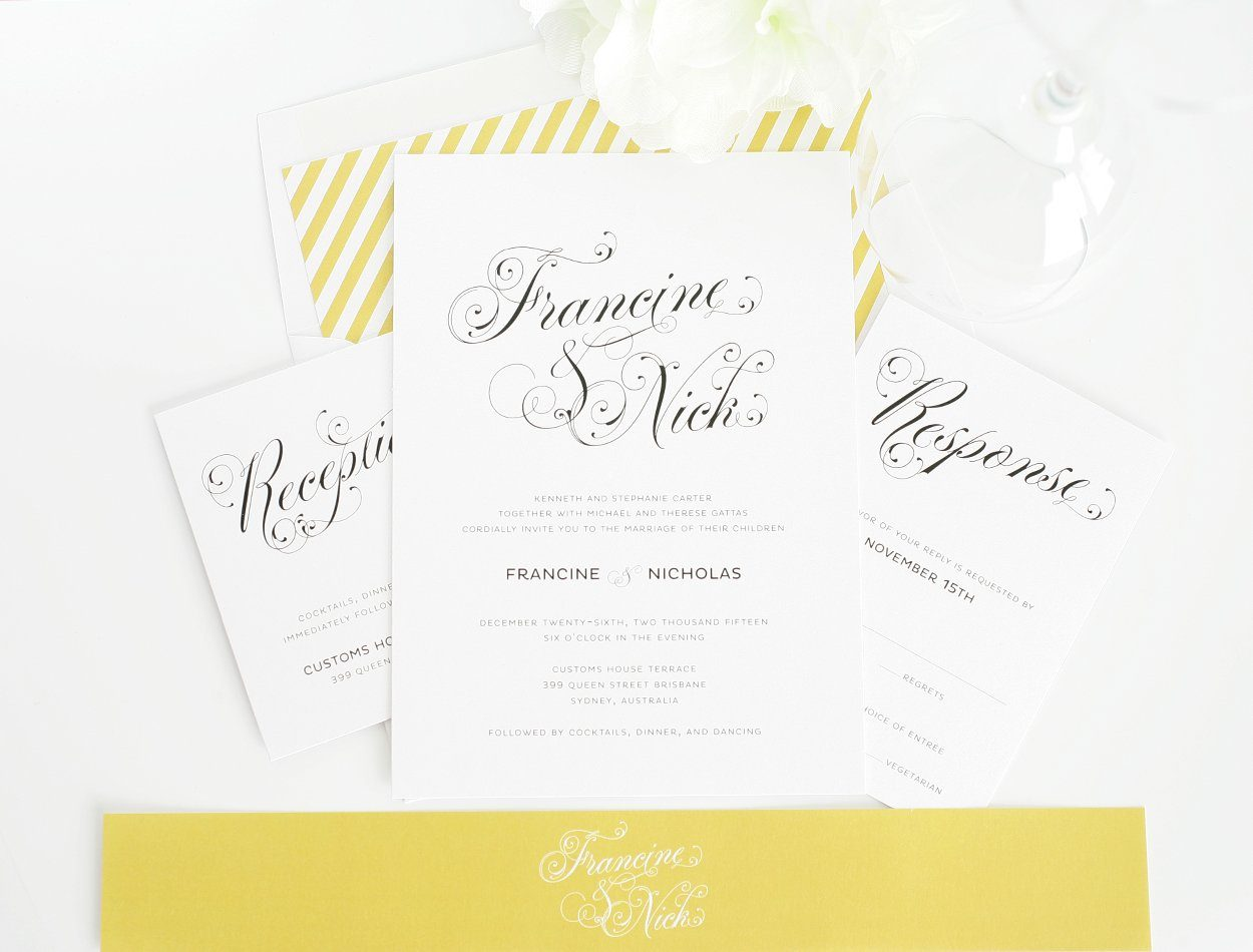 Wedding Invitations Sample Designs with luxury invitations example