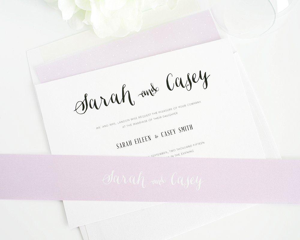 Stylish Wedding Invites
