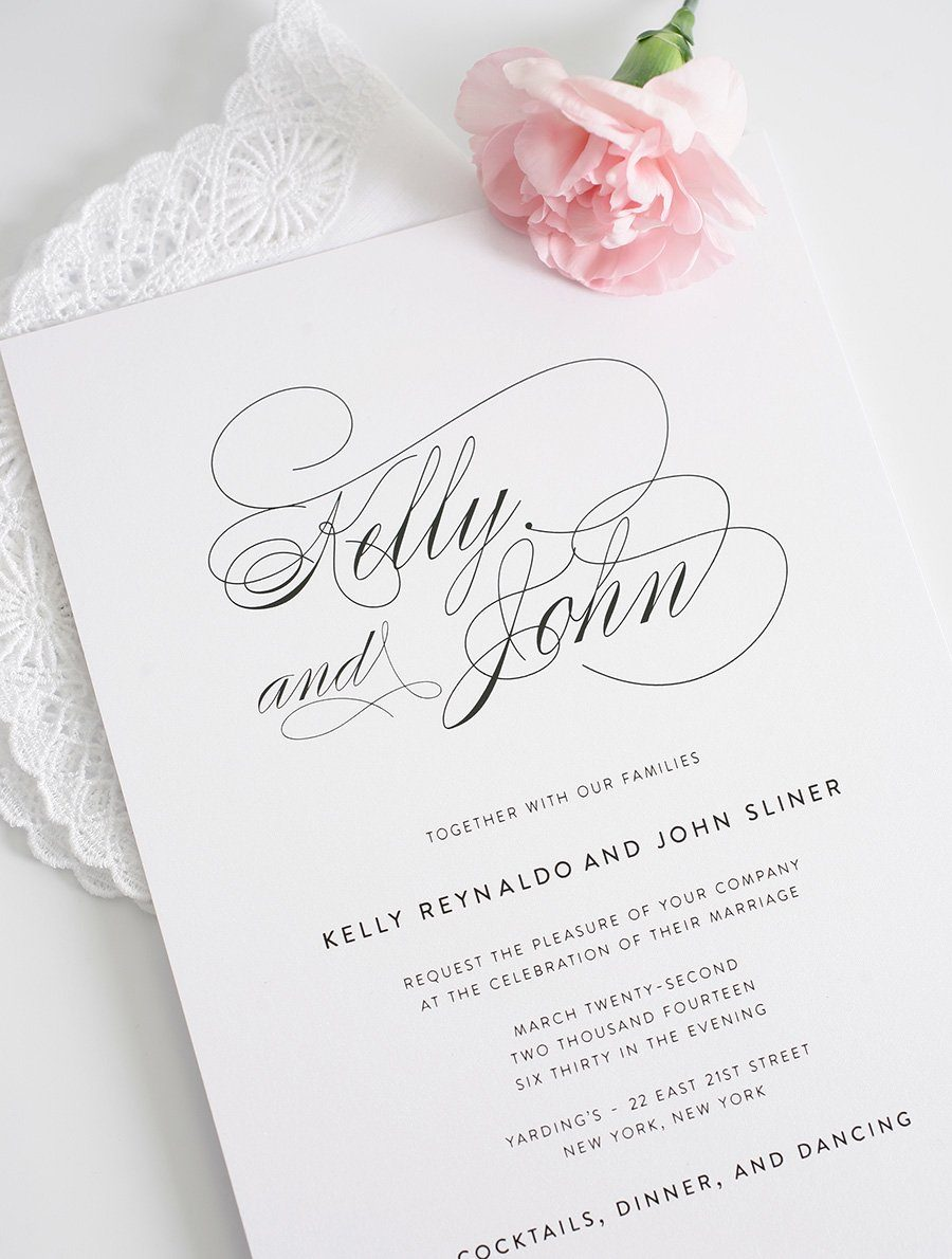 Wedding Invitations Simple with great invitations design