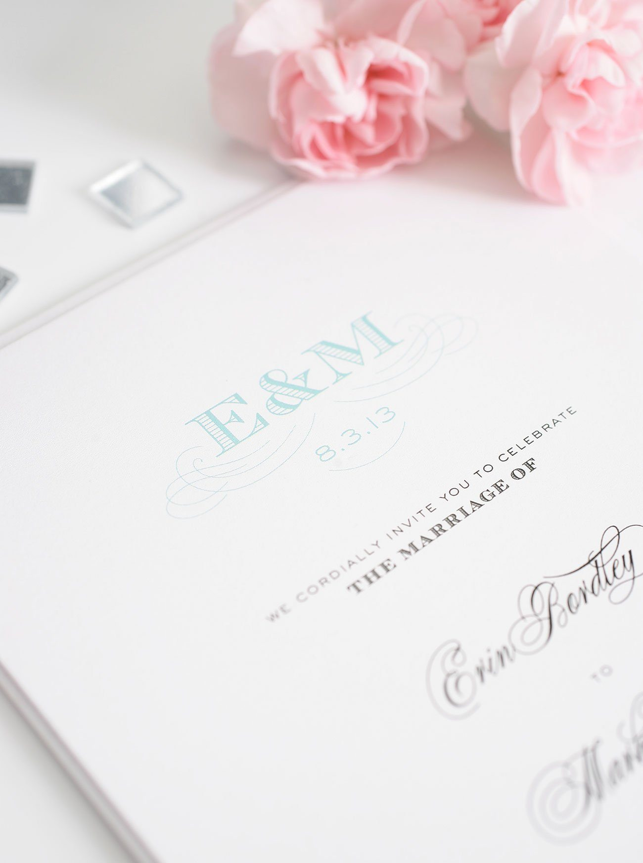 Wedding Invitation Monogram