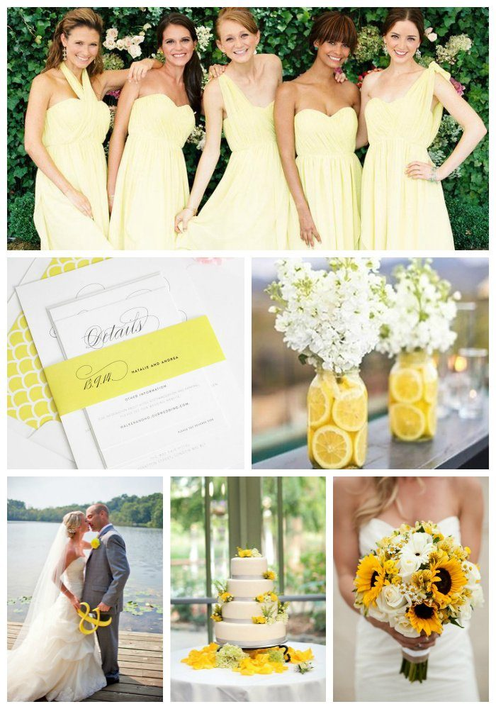 Wedding Inspiration in Yellow