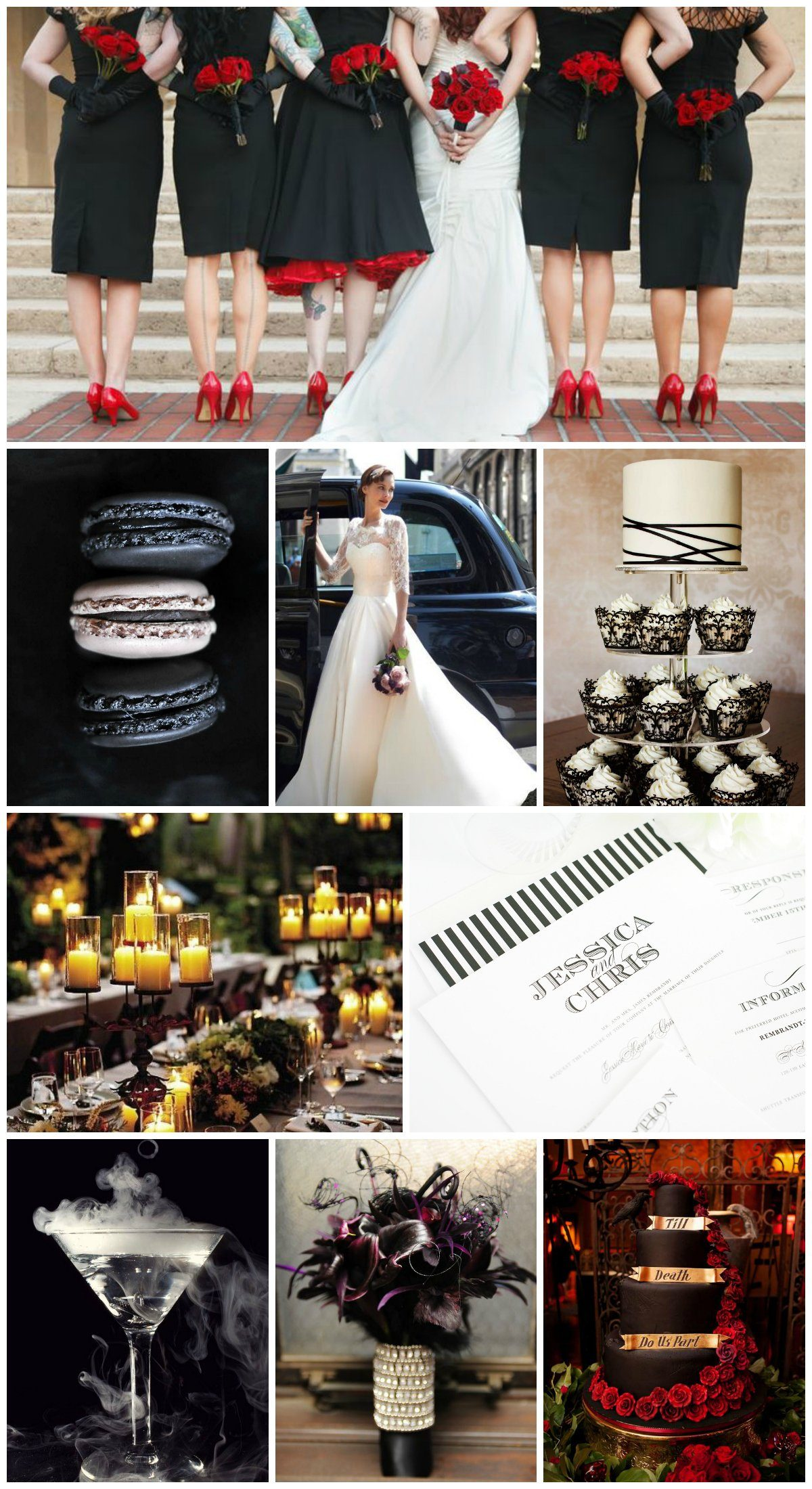 Wedding Inspiration for a Halloween Wedding
