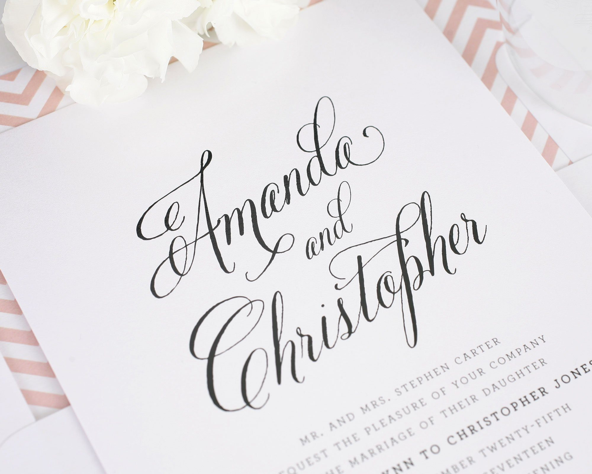 Shine Wedding Invitation: A New Collection From Shine