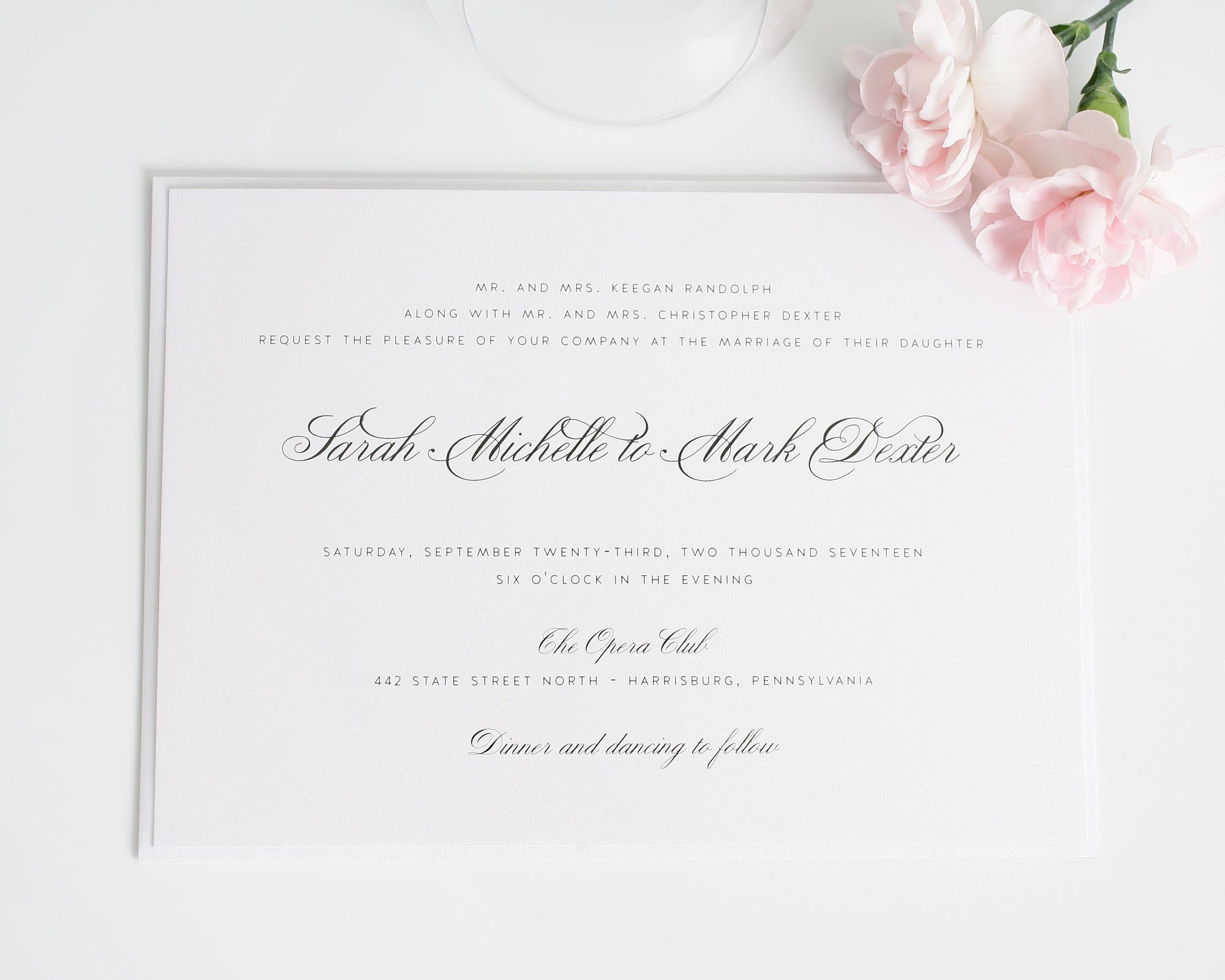 Traditional Wedding Invitation and get inspiration to create nice invitation ideas