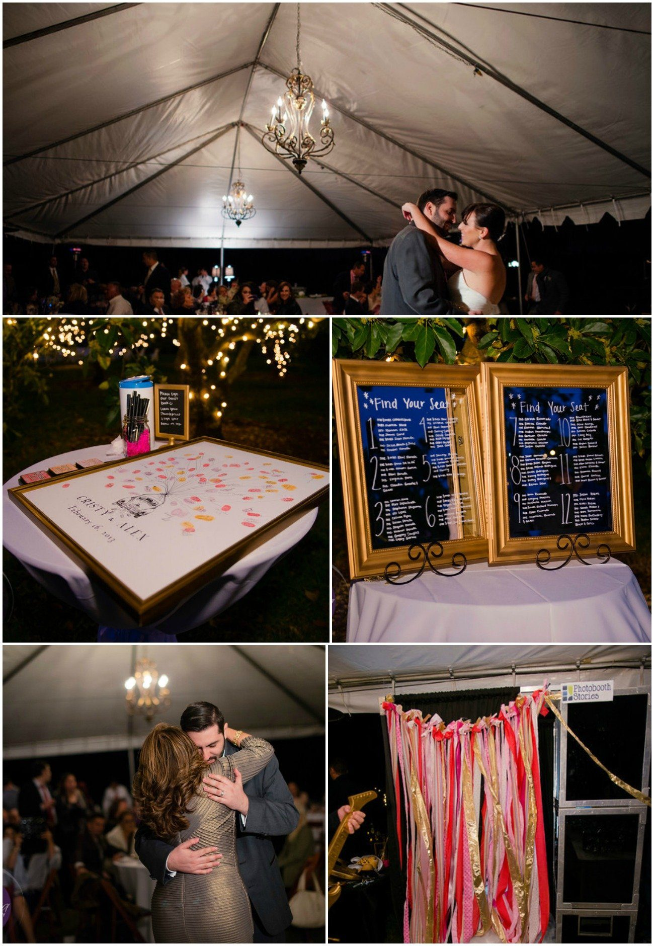 Whimiscal Real Wedding