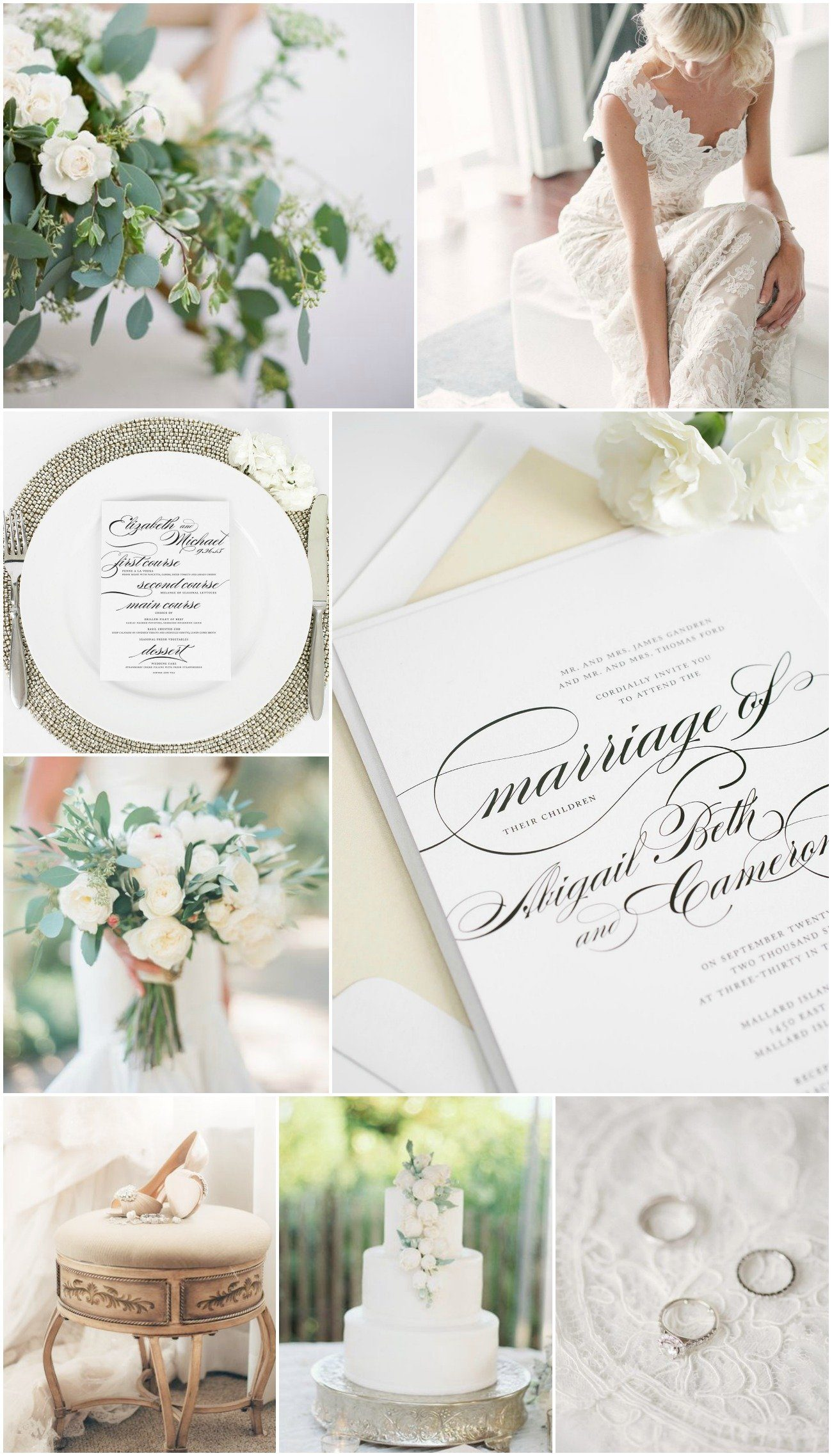 Champagne and Ivory Wedding Inspiration
