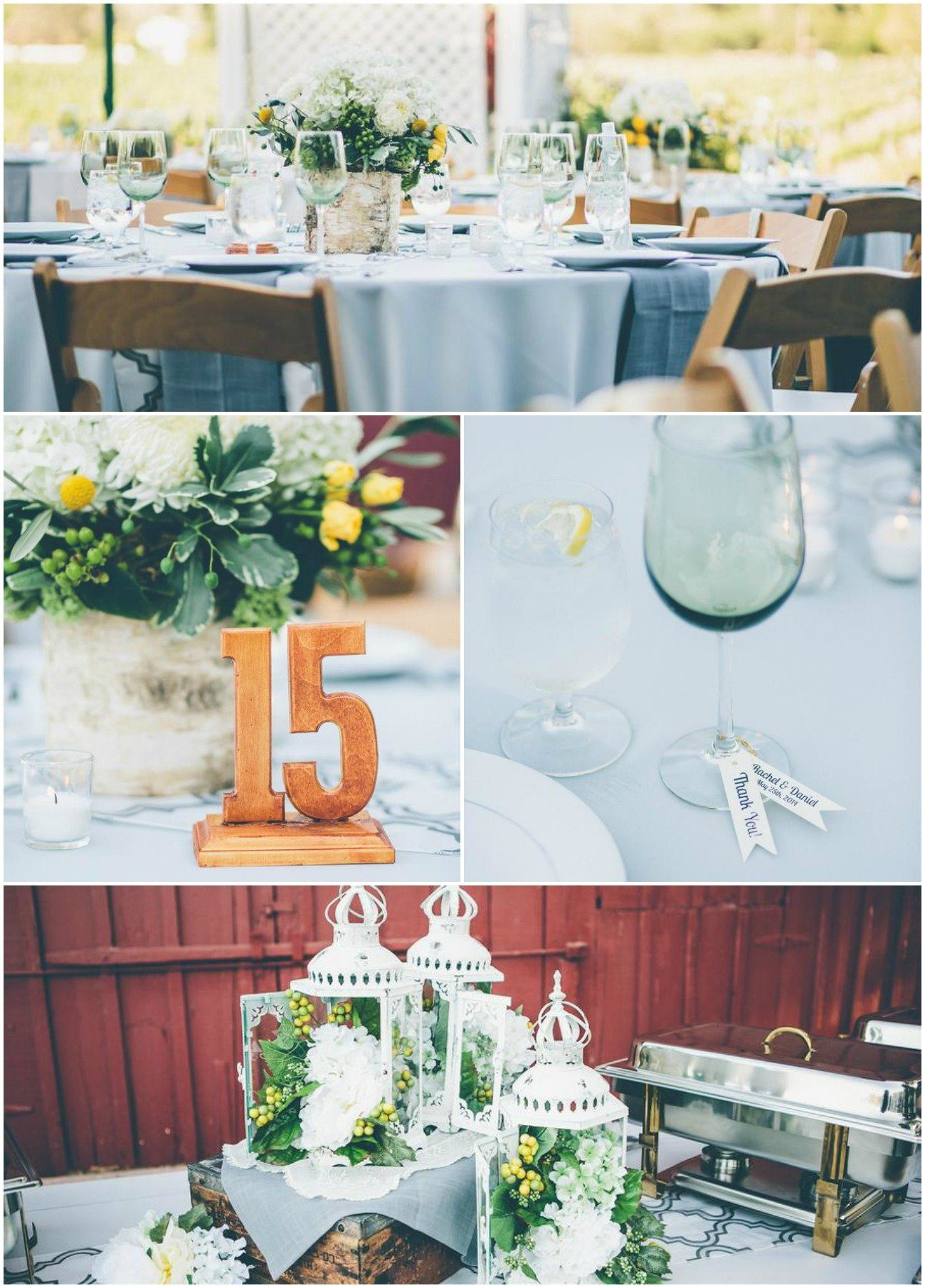 Golden Yellow and Spring Green Wedding with Rustic Accents