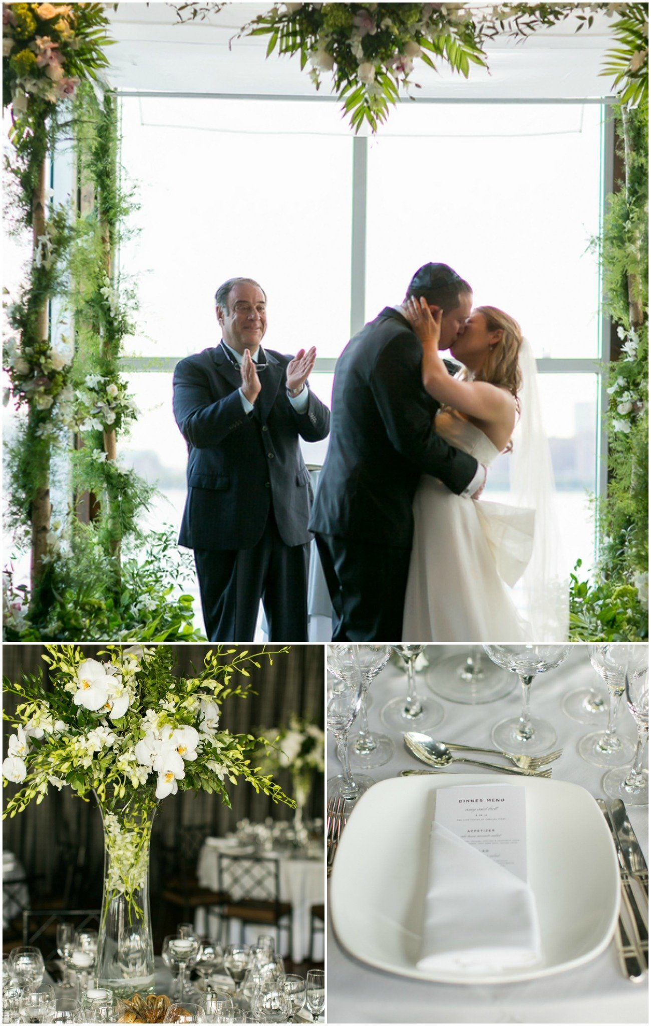 Elegant wedding in manhattan