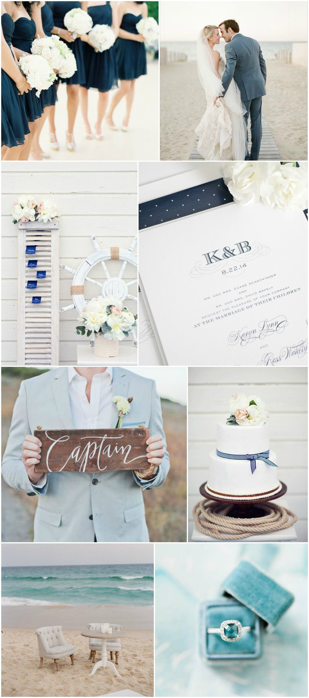 Nautical Navy Wedding Inspiration