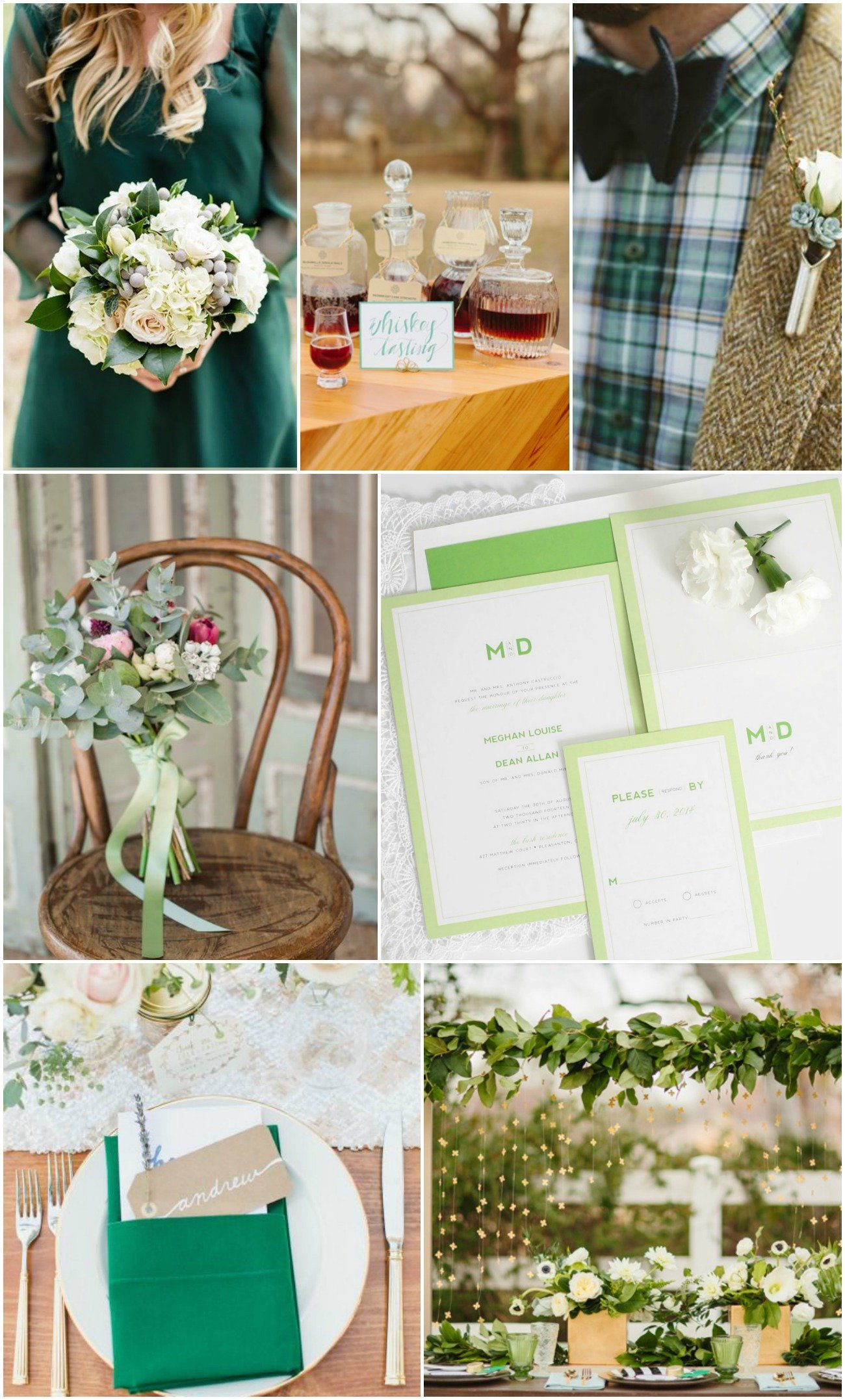 St Patrick's Day Wedding Inspiration