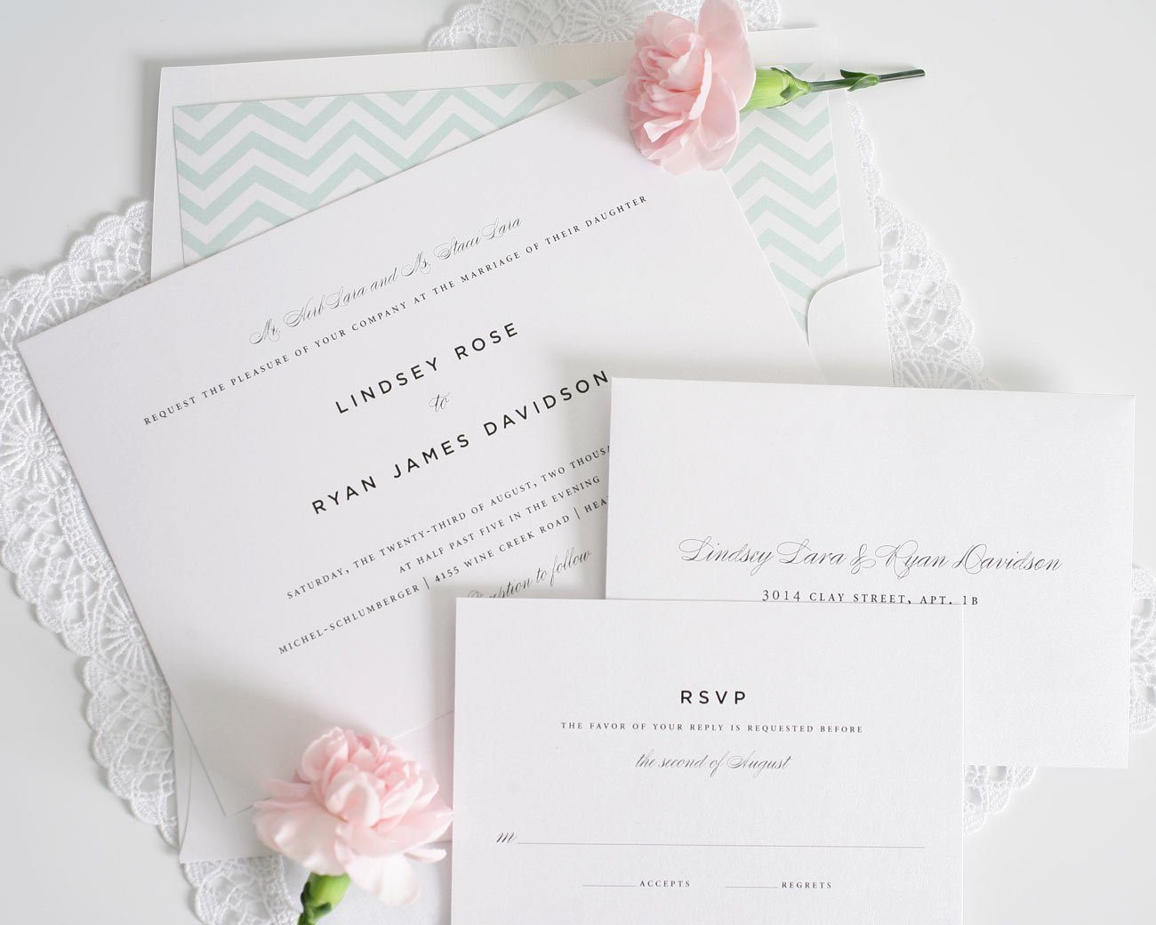 Urban Classic Wedding Invitations