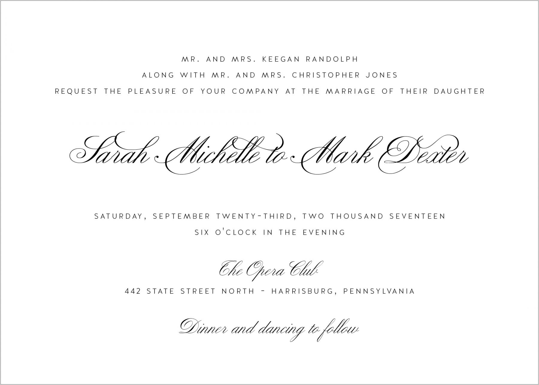 How To Write Invitation For Wedding: What's In A Wedding Invitation?