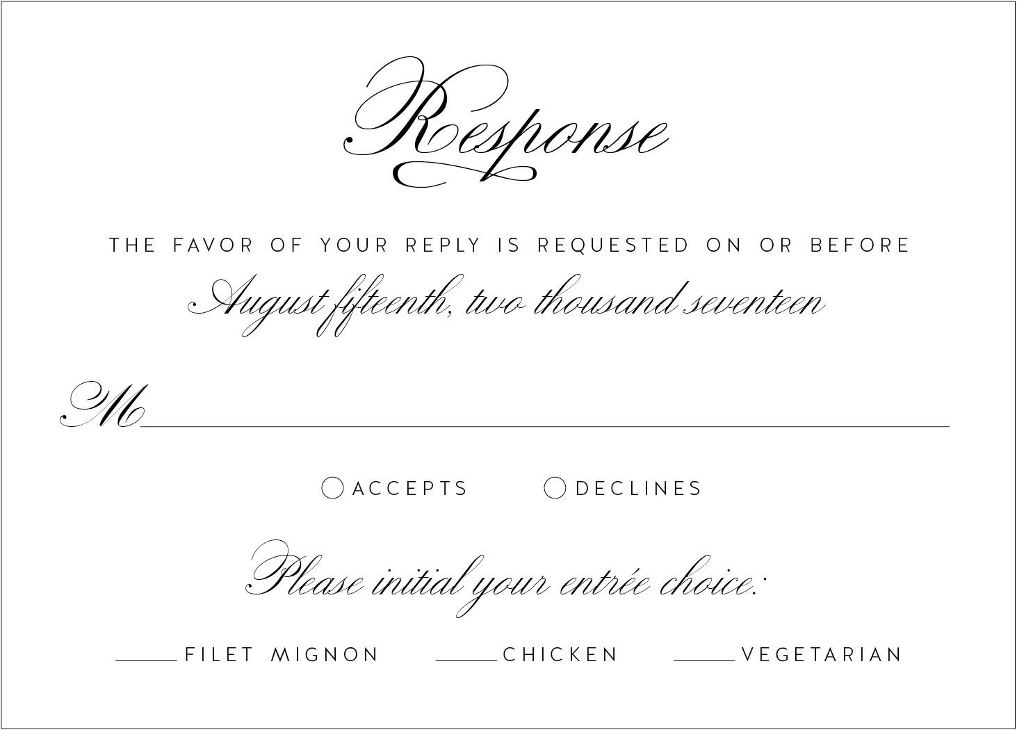 What\'s in a Wedding Invitation? – Wedding Invitations