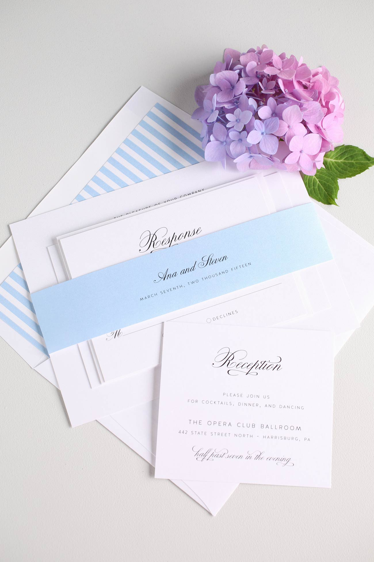 Serenity Wedding Invitations